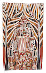 David Daymirringu Malangi (1927-1999) Manbarrngu (Mortuary Rights)