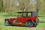 1914 Rolls-Royce 40/50-hp Silver Ghost Landaulette  Chassis no. 50YB Engine no. 109E