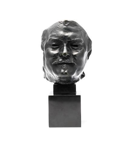 Auguste Rodin (French, 1840-1917) Balzac, masque souriant