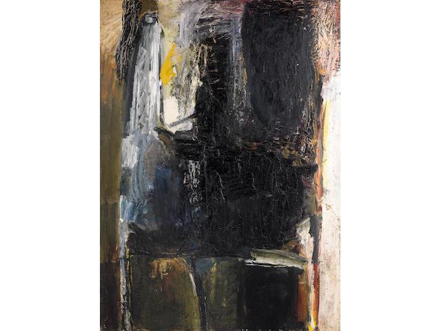 Karl Weschke (German, 1925-2005) Apocalypse 152.7 x 111.8 cm. (60 1/4 x 44 in.)