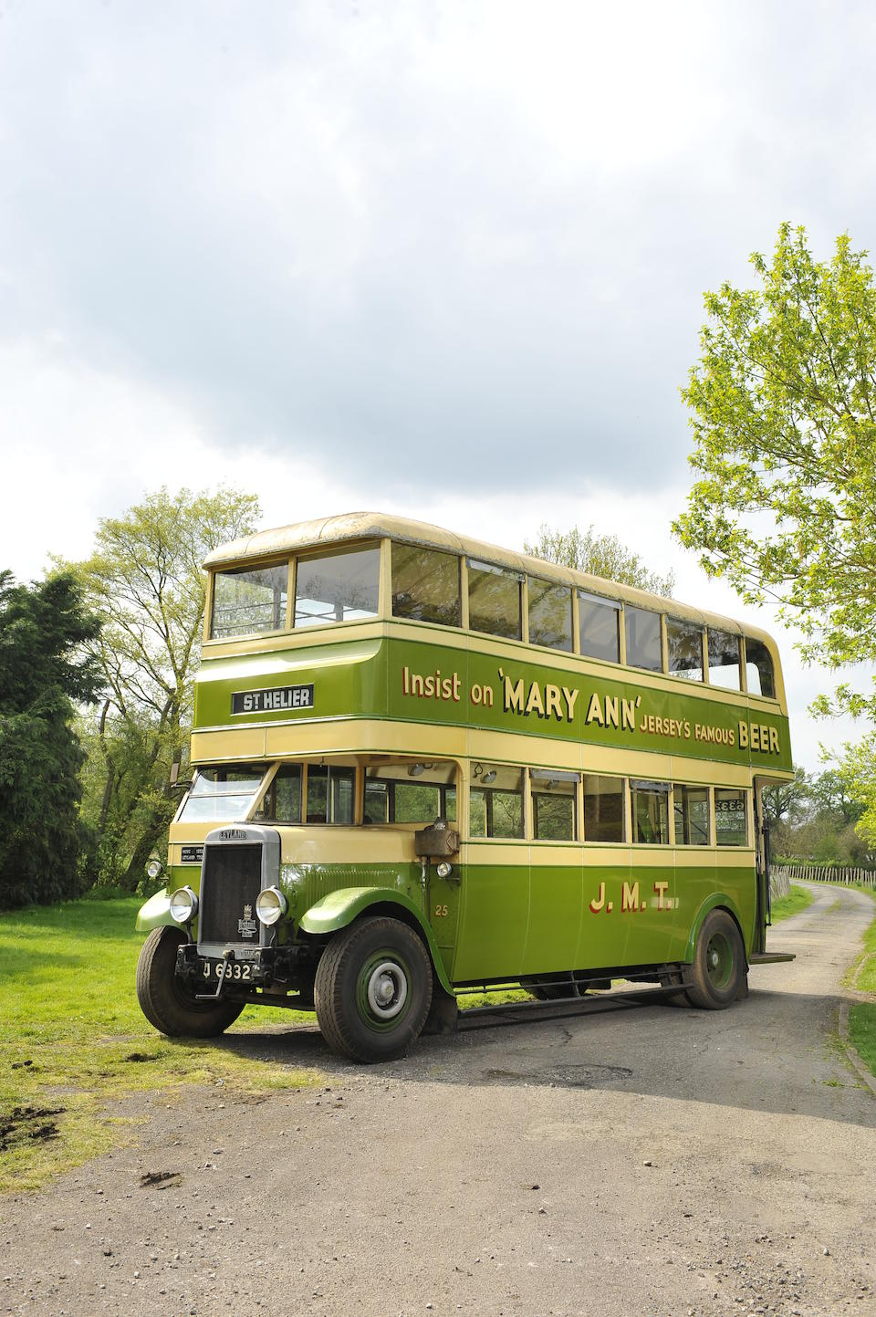 Formerly in service with Jersey Motor Transport,1932 Leyland  Titan TD2 Double Deck Bus   Chassis no. 1690 Engine no. C6171