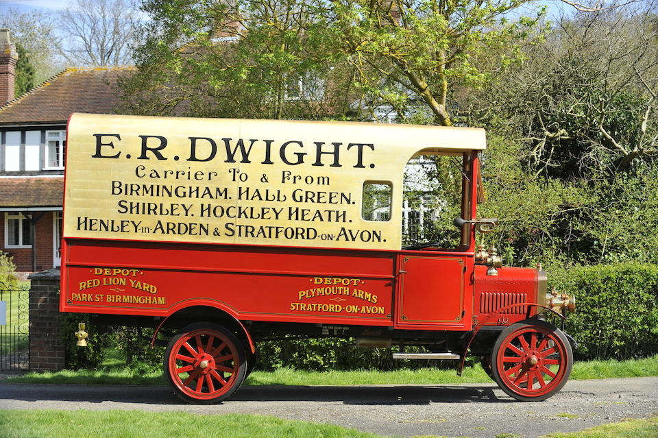 1917 Maxwell Commercial Delivery Car  Chassis no. 861 Engine no. 922 19P3