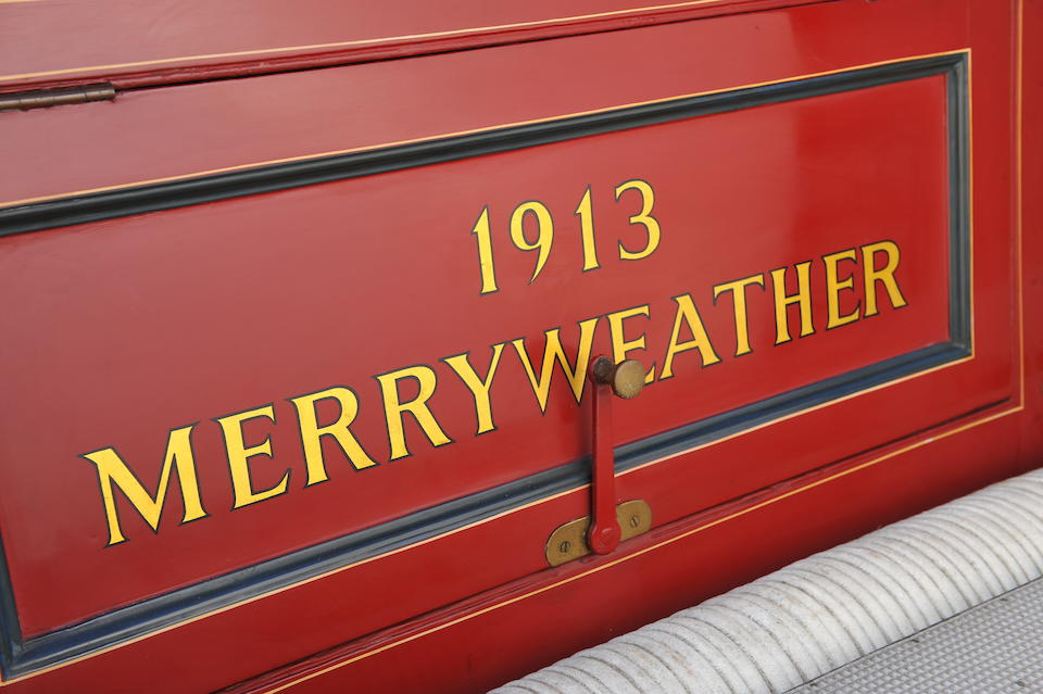 Formerly the works fire engine of brewers Bass, Ratcliff & Gretton,1913 Merryweather  Fire Engine   Chassis no. 3507 Engine no. 1872 W