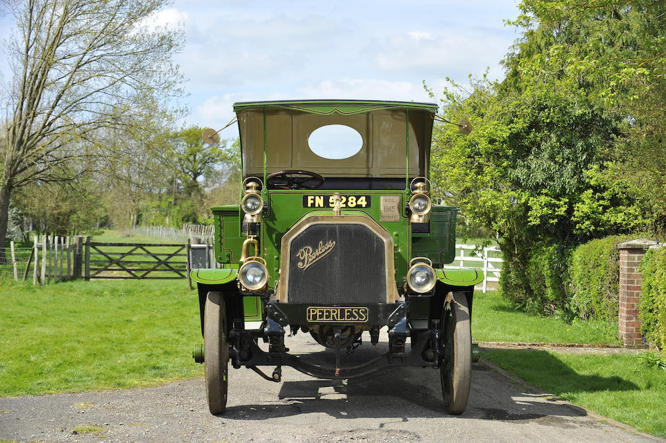 1915 Peerless TC4 4-Ton Open Back Lorry  Chassis no. 621 Engine no. 419