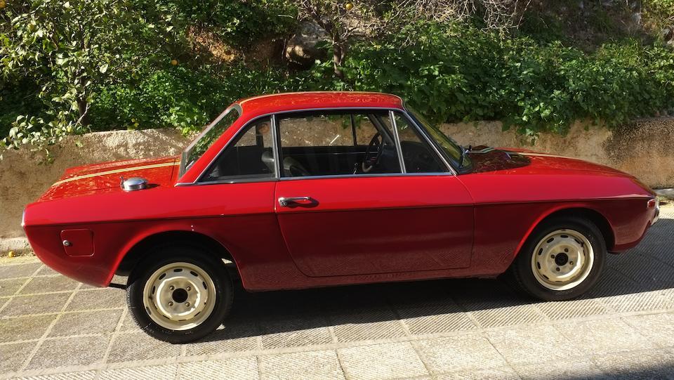 1967 Lancia Fulvia Rallye 1.3 HF Coupé Chassis no. 818.340.001234