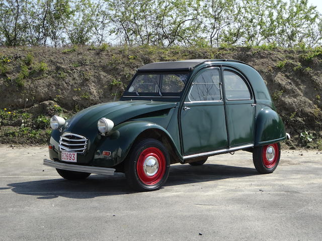 Single family ownership,1962 Citroën 2CV Saloon Chassis no. 1310228 Engine no. 01706281
