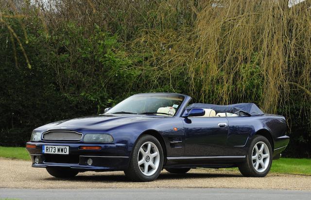 1998 Aston Martin V8 Volante LWB   Chassis no. SCFDAM2C5WBR89005 Engine no. 97/89005/A
