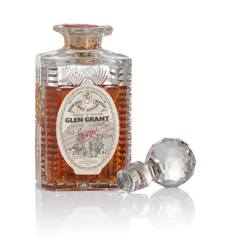 "Glen Grant ""The Continental Collection""- 1936"