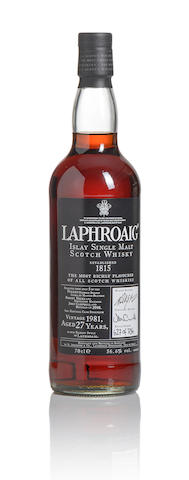 Laphroaig-1981-27 year old