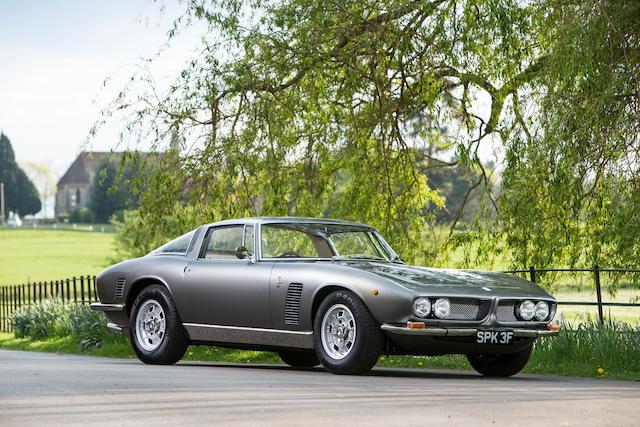 1967 Iso Grifo 5.4-Litre Coupé  Chassis no. GL730138D Engine no. 823-F 1215P