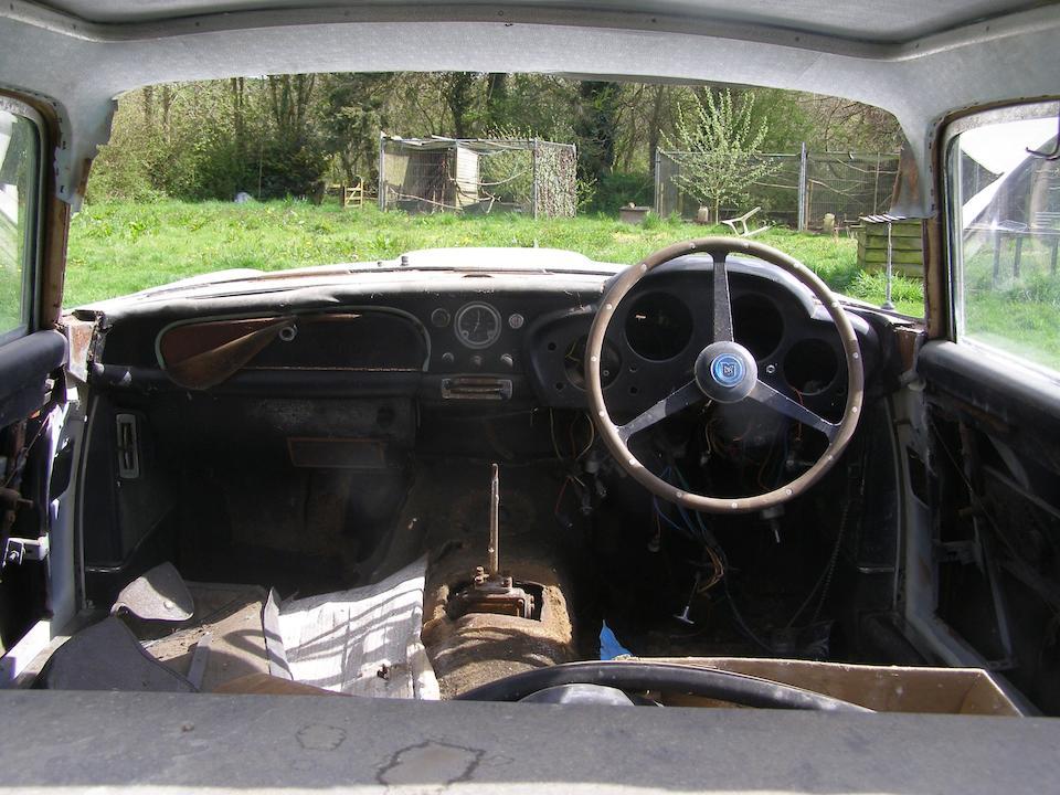 1961 Aston Martin DB4 'Series 3' Sports Saloon  Chassis no. DB4/666 Engine no. 692