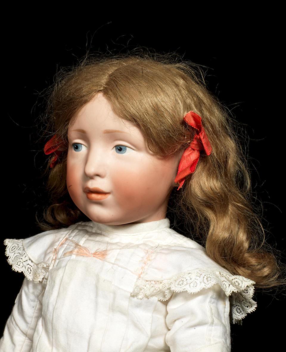 A rare Kämmer & Reinhardt 109 'Elise' bisque head character doll