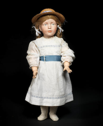 An extremely rare and unique Kämmer & Reinhardt 108 bisque head character doll