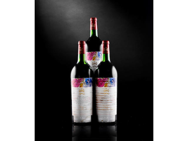 Chateau Mouton Rothschild 1970 (3 magnums)