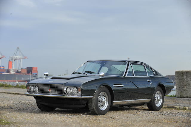 1969 Aston Martin DBS Sports Saloon  Chassis no. DBS/5475/R Engine no. 400/4294/S