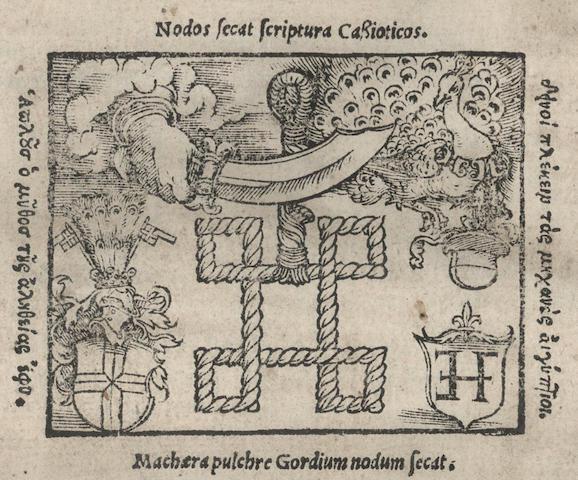 ZASIUS (ULRICH) Intellectus iuris civilis singulares udalrici, 1532--MUDAEUS (GABRIEL) De contractibus quatuor digestorum tituli facile praecipui..., 1586;  Commentarii ad titulos digestorum, 1563 (3)