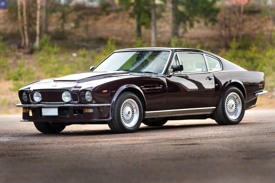 Left-hand drive,1984 Aston Martin V8 Vantage Sports Saloon  Chassis no. SCFCV81VXFTL12455 Engine no. V580/2455V