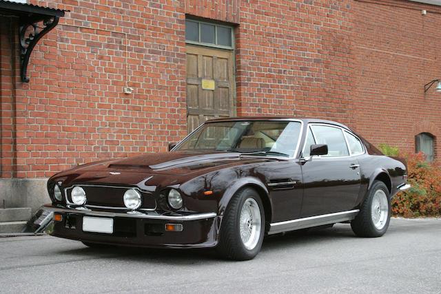 Bonhams Left Hand Drive 1984 Aston Martin V8 Vantage Sports Saloon Chassis No Scfcv81vxftl12455 Engine No V580 2455v