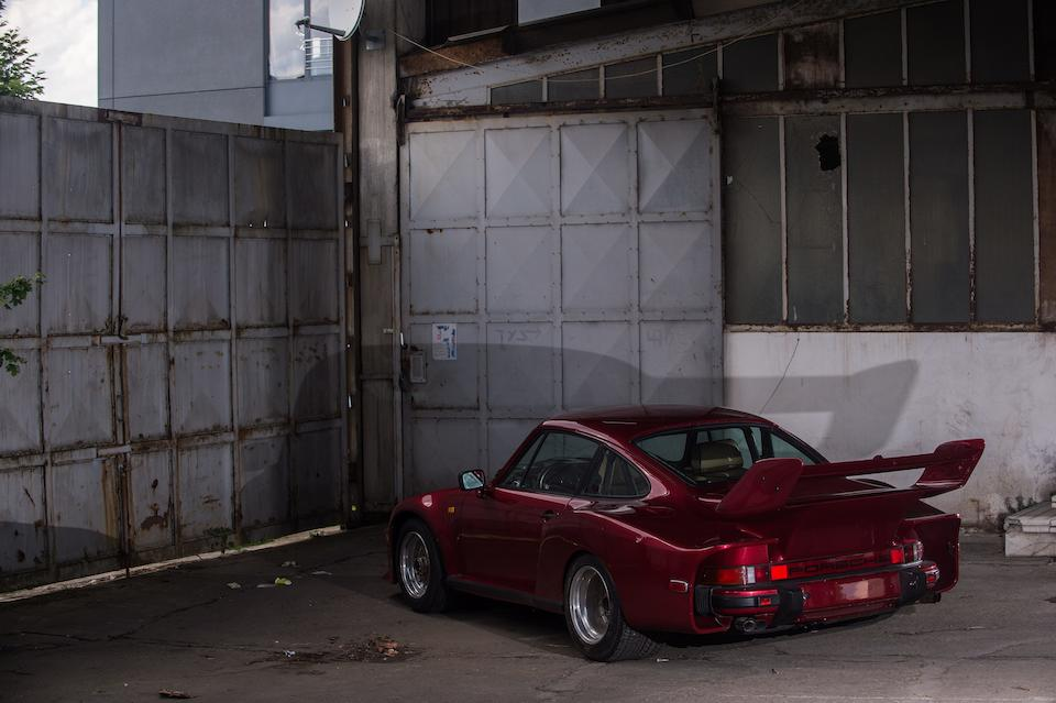 Factory commissioned and first owned by Mansour Ojjeh, Techniques d'Avant Garde,1983 Porsche 911 Type 930/935 Turbo Coupé Chassis no. WPOZZZ93ZDS000817 Engine no. 6700689