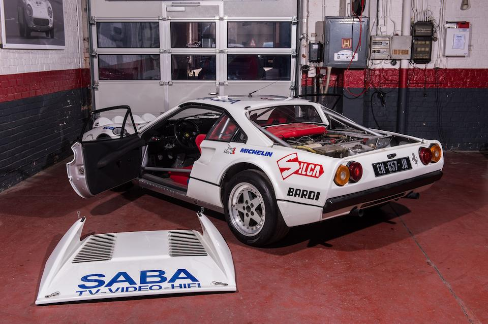 Spanish Championship-winning and Italian national vice-champion,1976/1983 Ferrari 308GTB Group B Michelotto Chassis no. 18869 Engine no. 00385