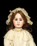 A large Simon & Halbig 939 bisque head doll