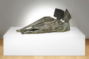 Lynn Chadwick (British, 1914-2003) Two Reclining Figures 191.8 cm. (75 1/2 in.) long