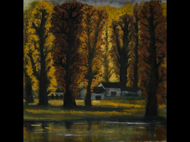 Lin Fengmian (1900-1991) Autumn Scenery