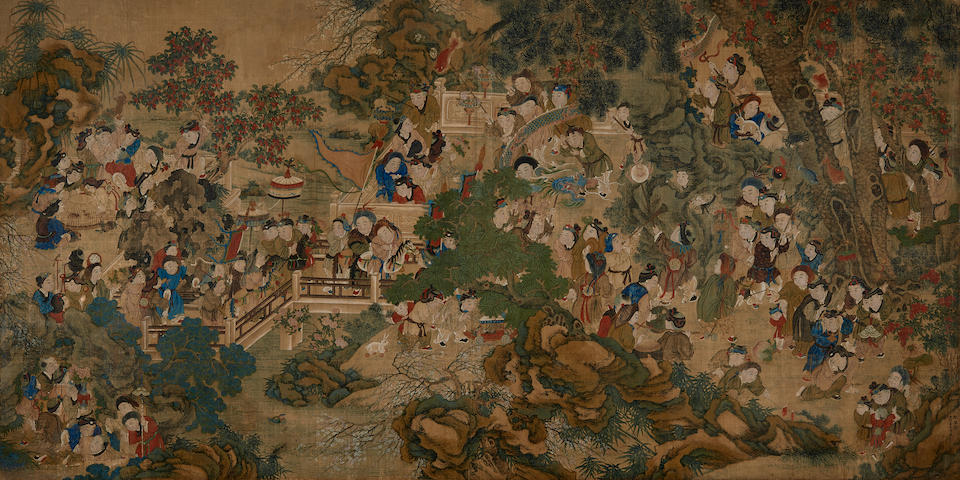 Leng Mei (active 1677-1742) Children at Play