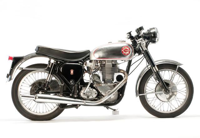 c.1957 BSA 500cc 'Gold Star' Frame no. CB32 11126 (see text) Engine no. DBD34GS 2297