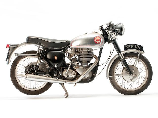 1955 BSA 500cc Gold Star Frame no. CB32 4182 Engine no. DBD34GS 4436