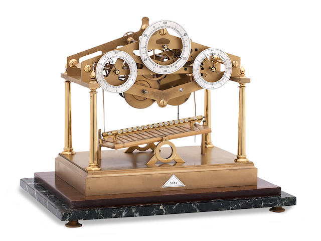 A limited edition 'Congreve' rolling ball clock circa 1973 E. Dent and Co Number 125 of 150