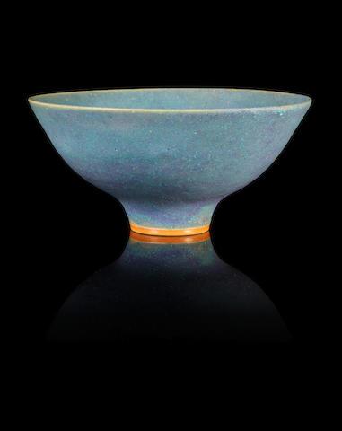 Dame Lucie Rie (Austrian, 1902-1995) A Footed Bowl, circa 1965