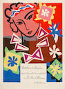 After Henri Matisse (French, 1869-1954) Bal de l'École des Arts Décoratifs (Madame de Pompadour) Lithograph printed in colours, 1951, on wove, from the edition of 1500, with the printed signatures of Matisse and Mourlot, printed by Mourlot Frères, Paris, 800 x 600mm (31 1/2 x 23 5/8in)(SH)(unframed)