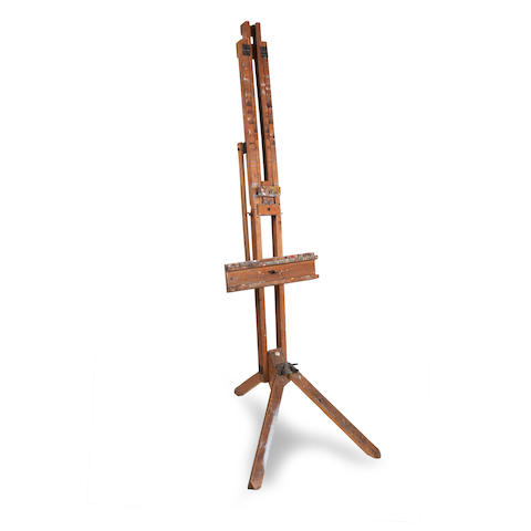 Jack Vettriano's first easel Made by Winsor & Newton Ltd., London