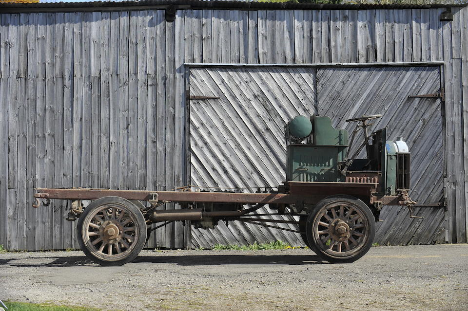c.1915 FWD Lorry  Chassis no. 1517 Engine no. TBA
