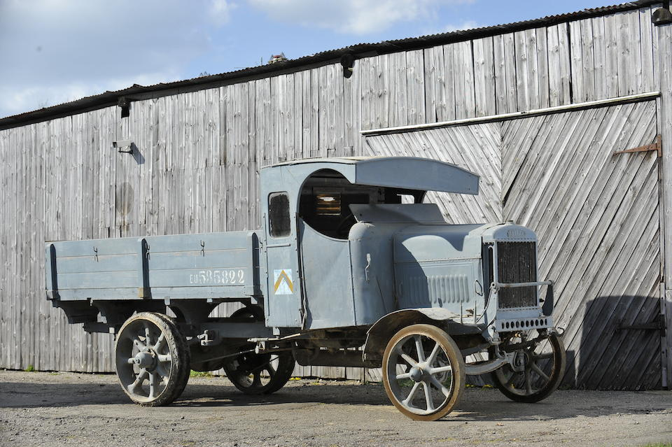 """1914 Leyland  S-Type """"Subsidy B"""" 30cwt Dropside Lorry  Chassis no. S3/332 Engine no. S560(895)"""
