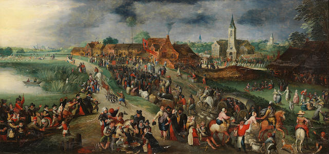 Circle of Marten van Cleve The Elder (Antwerp 1527-1581) The Festival of Saint George