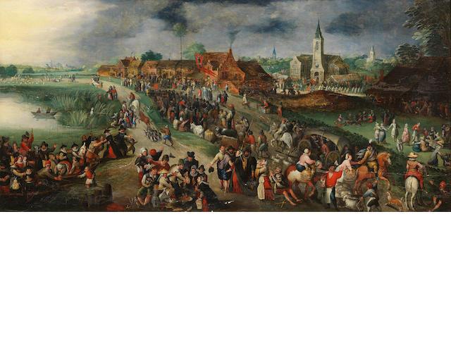 Circle of Marten van Cleve The Elder (Antwerp 1527-1581) The Festival of Saint George