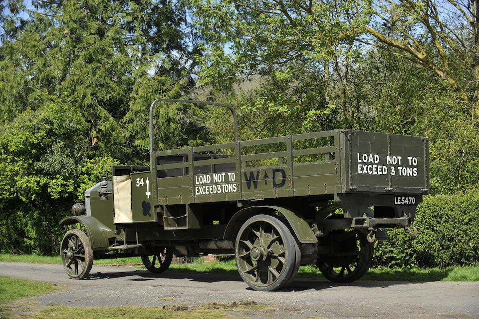 1913 Wolseley CR-Type Lorry   Chassis no. 630 Engine no. 1930