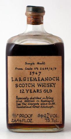 Largiemeanoch-12 year old-1967