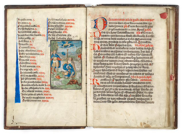 ILLUMINATED MANUSCRIPT [Lectionary], Germany (probably Nuremberg), 1478