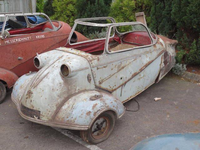 Property of a deceased's estate,c.1960 Messerschmitt KR200 Project  Chassis no. 73874