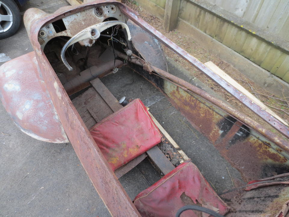 Property of a deceased's estate,c.1960 Messerschmitt KR200 Project  Chassis no. 70230