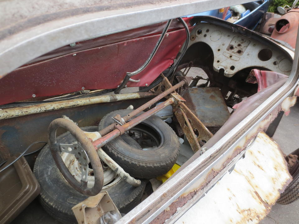 Property of a deceased's estate,1960 Messerschmitt KR200 Project  Chassis no. 69843