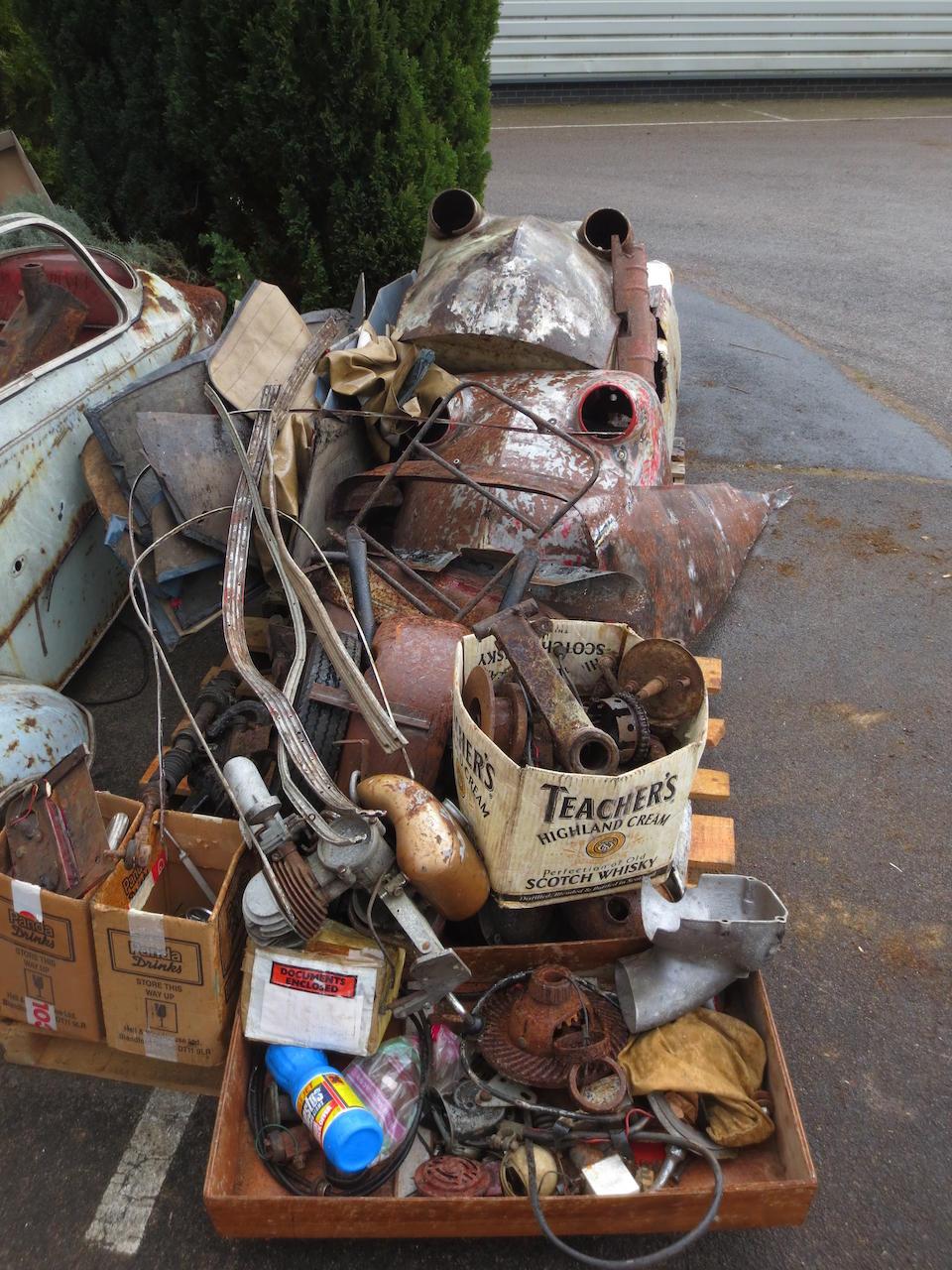 Property of a deceased's estate,Messerschmitt Kabinenroller Project