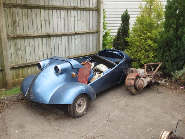 Property of a deceased's estate,c.1961 Messerschmitt KR200 Project  Chassis no. 75314 Engine no. 3132465