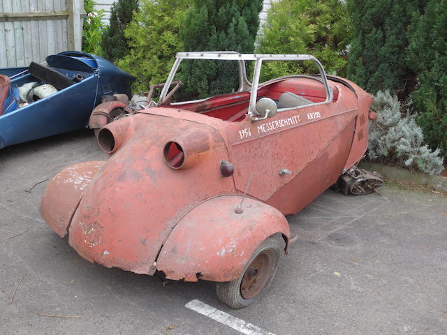 Property of a deceased's estate,1956 Messerschmitt KR200 Project  Chassis no. 61828 Engine no. 2250342