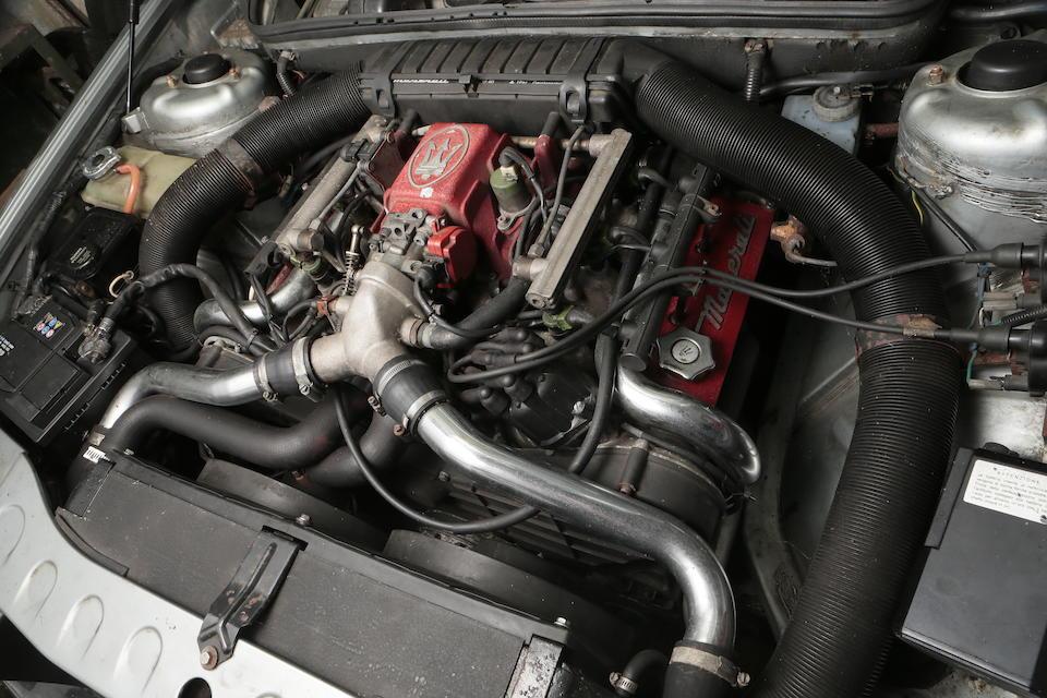 1989 Maserati 2.8-Litre Biturbo Saloon  Chassis no. ZAM332B00JB207180