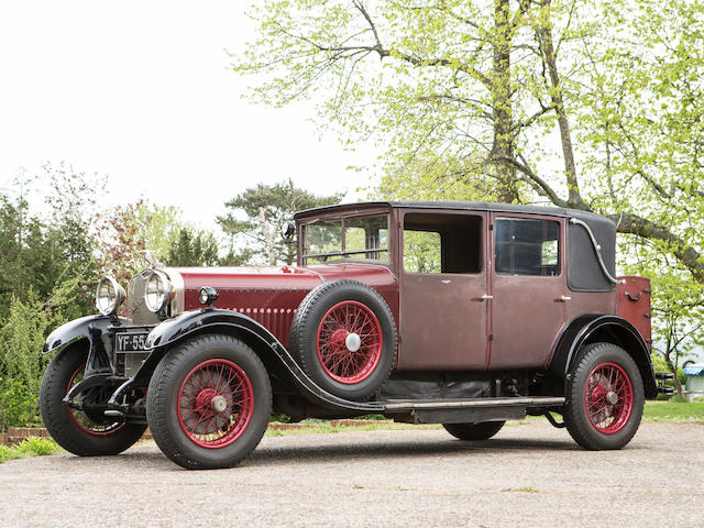1927 Hispano-Suiza 27hp T49 Weymann Saloon  Chassis no. 7874 Engine no. 7874