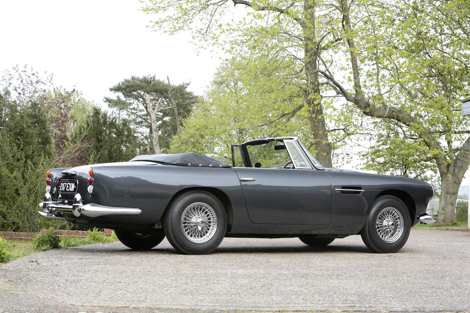 1 of only 70 built,1963 Aston Martin DB4 Convertible  Chassis no. DB4C/1091/R Engine no. 370/1085